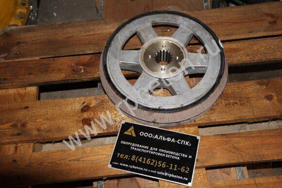 Тормоз подъёмного электродвигателя скипа